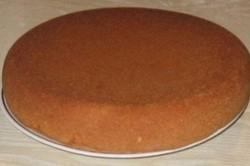 Recept elkészítése A legegyszerűbb piskótatészta sütikhez, tortákhoz, lépés 6