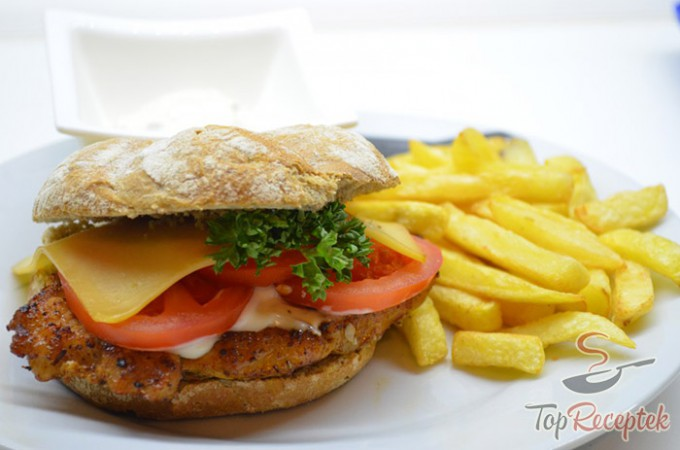 Recept Sertés hamburger