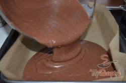 Recept elkészítése Amerikai diós szelet, verhetetlen sütemény, lépés 3