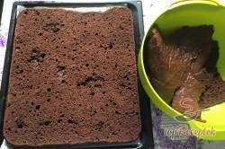 Recept elkészítése Vakondtúrás sütemény, lépés 7