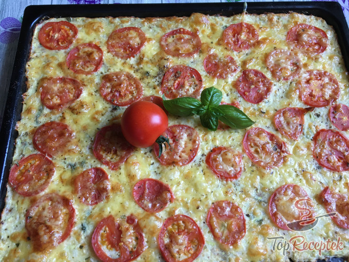 Recept Cukkinis pizza
