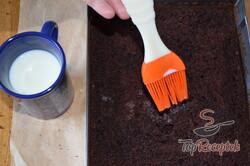 Recept elkészítése Egyszerű csokis-pudingos szelet, a régi szakácskönyv alapján, lépés 10